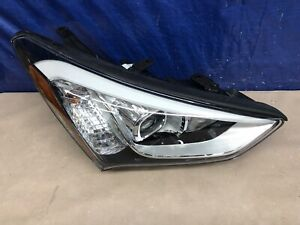 13 16 Santa Fe Sport Headlight Xenon Right 2013 2016 Used Oem