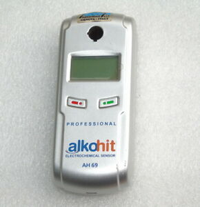 Alkohit Professional Electrochemical Sensor Ah69 Alcohol Meter Police Driving