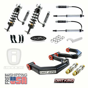 Radflo Shocks Dirt King Mid Travel Ford F150 Package 2005