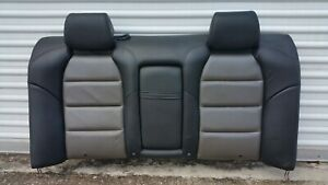 2007 2008 Acura Tl Type S Rear Seat Back Cushion Black grey