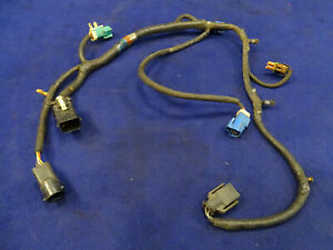 04 2004 Ford Mustang Gt 5 Speed Manual Transmission Wiring Harness Oem 113