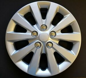 One New Wheel Cover Hubcap Fits 2013 2019 Nissan Sentra S sv 16 Silver 10 Spoke