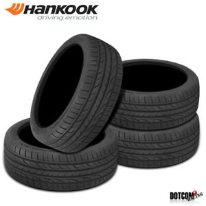 4 X New Hankook Ventus S1 Noble2 H452 225 55 16 95w Ultra High Performance Tire