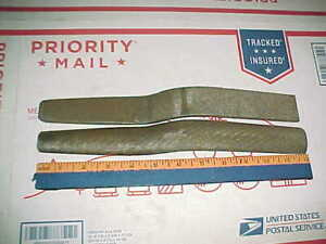Vtg 2 Auto Body Slapping Files 2089 Flat 2090 Curved Rounded Hand Shop Tools