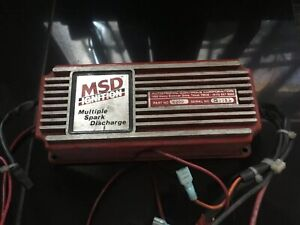 Msd 6a 6200 Ignition Box Multi Spark Discharge