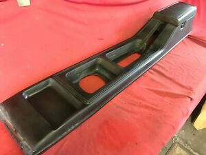 1974 78 Ford Mustang Ii Cobra Center Console In Black