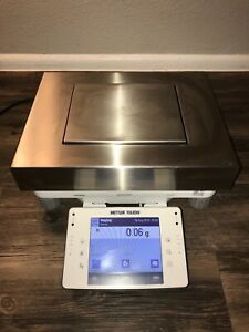 Mettler Toledo Xpe15002l Precision Balance 15 1 Kg Capacity 0 01 G readability