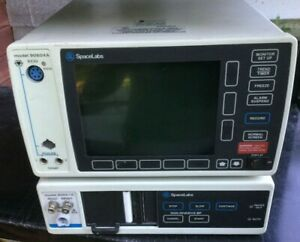 Spacelabs 90604a Ecg Multi parameter Patient Monitor 90651a Hospital Surplus