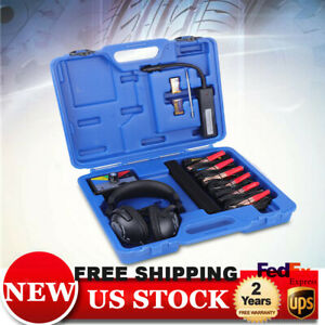 6 channel Electronic Stethoscope Kit Find Engine Noise Diagnosis Scope Mechanics