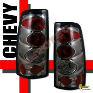 1999 2002 Chevy Silverado Gmc Sierra 1500 2500 Hd Pickup Smoke Tail Lights