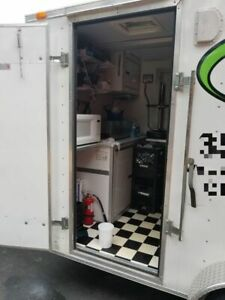 2015 6 X 10 Gorgeous Food Concession Trailer used Mobile Kitchen Unit For Sa