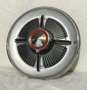 1965 65 Ford Galaxie 500 Xl Hipo Spinner 15 Wheel Cover Hub Cap Nice