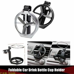 Foldable Universal Car Cup Holder Drink Bottle Door Window Holders Can Stand New