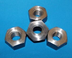 304060 nutx40 3 4 6 Acme Hex Nut Steel 40 Pack For Acme Right Hand Threaded Rod