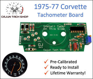 1975 1977 Corvette C3 Pre Calibrated Tachometer Circuit Board New Tach Fix