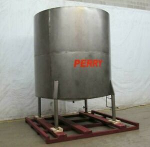 3000 Gal Single Wall Stainless Steel Storage Tank