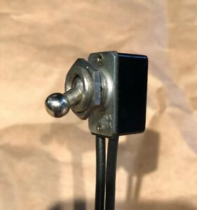 Ball Handle Toggle Switch Spst On off 6a 125vac 3a 250vac