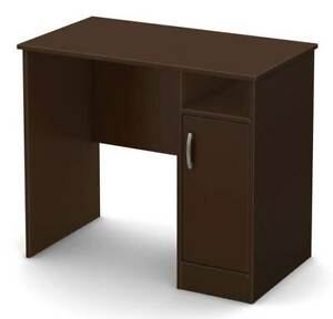 Small Desk With Drawers In Chocolate Finish id 3092341