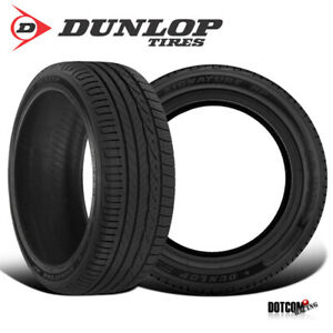 2 X New Dunlop Signature Hp 205 55r16 91v All season Performance Tire