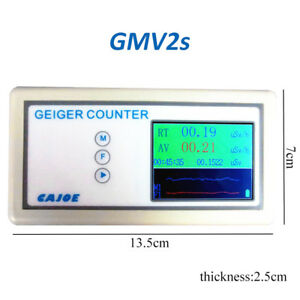 G m Geiger Counter Nuclear Radiation Detector Lcd Data Logger Beta Gamma X ray