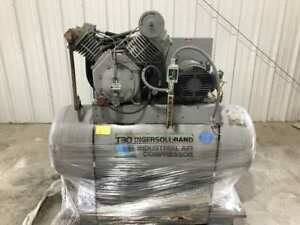 Ingersoll Rand T3015120h 15hp Two stage Air Compressor 1770rpm 70 Gal 3ph 200psi
