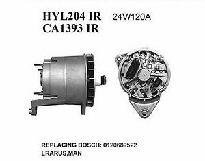 Alternator Bosch Volvo Bosch T1 0 120 689 540 0 120 689 541 0 120 689