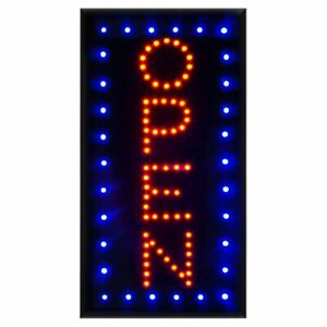 Vertical Led Open Sign With On off Ultra Bright Neon Light Led Business Signs