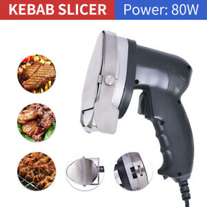 New Electric Shawarma Doner Meat Knife Ce Kebab Slicer Gyros Carver Gyro Cutter