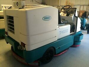 Tennant 7400 Ride On Sweeper Reconditioned With Warranty