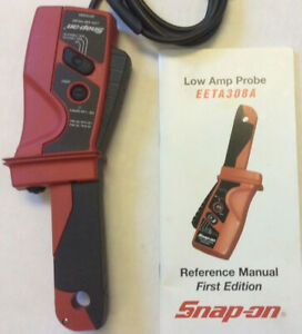 Snap on Low Amp Probe Eeta308a Ac dc Diagnostic