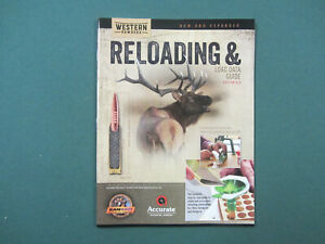 Western Powders Reloading and Load Data Guide Rifle Pistol Shotshell
