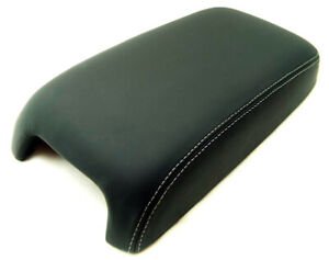 Fits 11 19 Jeep Grand Cherokee Vinyl W Gray Stitch Center Console Armrest Cover