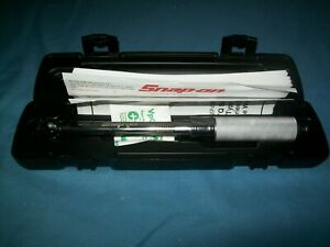 New Snap on 3 8 Drive 40 200 In Lb Compact Torque Wrench Qd2r200 W Case 2019