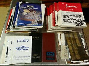 Lot Of Pcb Printed Circuit Board Production Documents Manuals Papers Journals