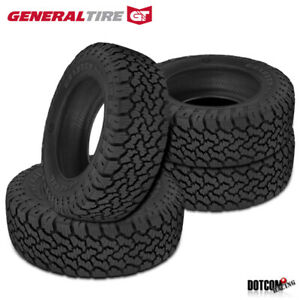 4 X New General Grabber A Tx 33x12 50r20ltr10 114s Tires