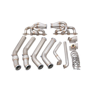 Cxracing Ls1 Twin Turbo Manifold Header Kit For 1960 66 Chevrolet C10 Truck Lsx