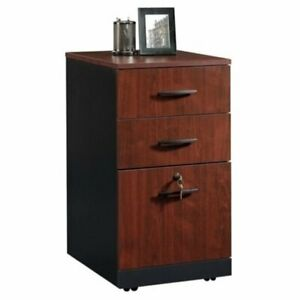 Bowery Hill 3 Drawer File Cabinet In Classic Cherry