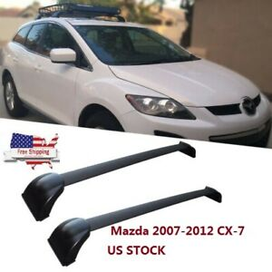 For 07 12 Mazda Cx 7 Cx7 Roof Rack Cross Bars Cargo Luggage Carrier Us