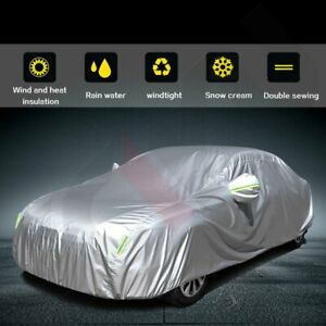 Silver Polyester Water Dustproof Resistant Car Cover For 1996 1999 Toyota Dodge