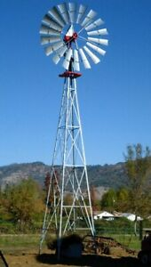 New Aermotor 12 Complete Windmill With 12 40 Tower