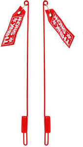 Snow Plow Blade Markers Guide Sticks W Flags Pair For Western 59700
