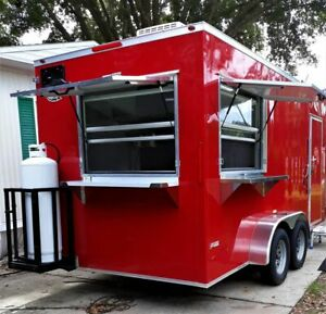 2019 Just Built 7 X 16 Freedom Food Concession Trailer For Sale In Florida