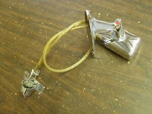 Oem Ford 1966 Mercury Remote Mirror Chrome Monterey Montclair Park Lane Nos