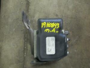 2011 Ford F250 Sd Abs Anti lock Brake Assembly W trailer Sway Control 19h0843