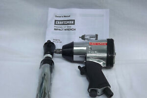 Impact Air Rachet And Wrench By Craftsman