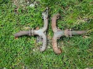 58 59 60 61 62 63 Chevy Impala 283 327 Left Right Exhaust Manifolds Set