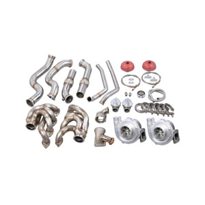 Cxracing Twin Turbo Manifold Kit For 60 66 Chevy C10 Truck Bbc Big Block 396 427