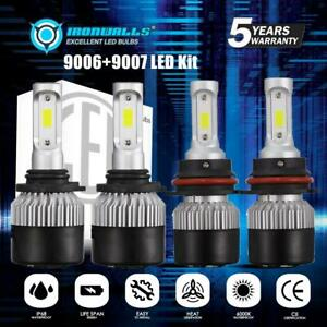 9007 9006 Led Headlight Hi Lo Beam Kit Bulbs For Nissan Murano 2003 2007 3600w