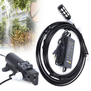 High Pressure Booster Pump Diaphragm Water Pump Sprayer For Garden Home12v Dc Us