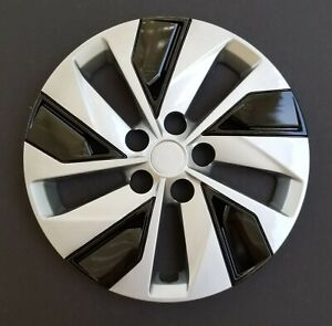 One New Wheel Cover Hubcap Fits 2019 2020 Nissan Altima 16 Silver Black